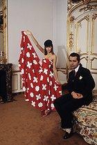 Roger-Viollet   972003   Karl Lagerfeld (1933-2019), German fashion designer. Artistic director for the Chloé couture house. Paris, on October 5, 1978.   © Jean-Régis Roustan / Roger-Viollet