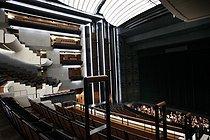 Roger-Viollet | 973631 | Room of the Opera Bastille (architect: Carlos Ott). Paris, on November 27, 2010. | © Colette Masson / Roger-Viollet