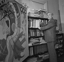Roger-Viollet | 998862 | Wassily Kandinsky | © Boris Lipnitzki / Roger-Viollet