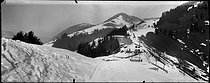 Roger-Viollet | 1002868 | Sonloup pass, Alps (Switzerland). | © Léon & Lévy / Roger-Viollet