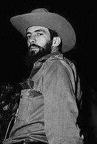 Roger-Viollet | 1010210 | Cuba. Camilo Cienfuegos (1932-1959), Cuban revolutionary hero. | © Gilberto Ante / BFC / Roger-Viollet