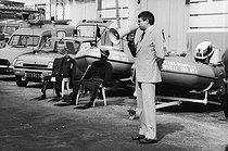 Roger-Viollet | 1010529 | Trouville-sur-Mer (Calvados, France), on July 14, 1980. | © Jean-Pierre Couderc / Roger-Viollet
