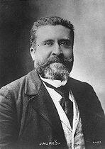 Roger-Viollet | 1019472 | Jean Jaurès (1859-1914), French politician and writer. | © Roger-Viollet / Roger-Viollet
