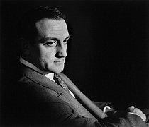 Roger-Viollet | 1019779 | Lino Ventura (1919-1987), Italian actor. France, 1950. Photograph by Janine Niepce (1921-2007). | © Janine Niepce / Roger-Viollet