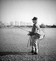 Roger-Viollet   1037613   FRANCE - LEONCE DE BOISSET   © Tony Burnand / Roger-Viollet