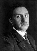 Roger-Viollet | 1040533 | André Lhote (1885-1962), French painter. | © Pierre Choumoff / Roger-Viollet