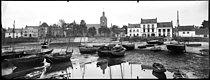 Roger-Viollet | 1044944 | The port at low tide. Le Croisic (Loire-Atlantique), circa 1920. | © Léon & Lévy / Roger-Viollet