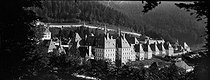 Roger-Viollet | 1045553 | The Charterhouse (Isère). Monastery of the Chaterhouse. Overall view. About 1900. | © Neurdein / Roger-Viollet