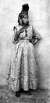 Roger-Viollet | 1062783 | Woman from the Ouled Naïl tribe. Algeria, circa 1890. | © Léon & Lévy / Roger-Viollet