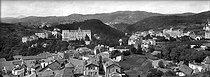 Roger-Viollet | 1075107 | Chatelguyon (Puy-de-Dôme). Overview from the calvary. | © Léon & Lévy / Roger-Viollet