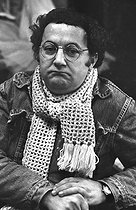 Roger-Viollet | 1083744 | Coluche (1944-1986), French actor and humorist. | © Jacques Cuinières / Roger-Viollet