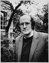 Roger-Viollet | 1084351 | Marcel Gauchet (born in 1946), French historian and philosopher, November 1985. | © Bruno de Monès / Roger-Viollet