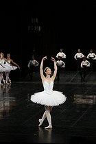 Roger-Viollet | 1084948 | Défilé du ballet de l'Opéra | © Colette Masson / Roger-Viollet