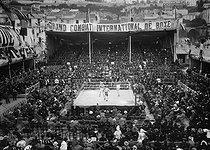 Roger-Viollet | 1086918 | Boxing match - Carpentier versus Sullivan | © Maurice-Louis Branger / Roger-Viollet