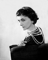 Roger-Viollet | 1115087 | Coco Chanel (1883-1971), couturière française. Paris, 1936. | © Boris Lipnitzki / Roger-Viollet