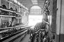 Roger-Viollet | 1165180 | Inauguration du sous-marin atomique français  Le Redoutable . Cherbourg (Manche), 29 mars 1967. | © Jacques Cuinières / Roger-Viollet