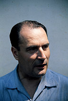 Roger-Viollet | 1382127 | François Mitterrand (1916-1996), French politician. France, 1965. | © Jean-Régis Roustan / Roger-Viollet