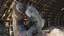 Roger-Viollet | 1383235 | Ousmane Sow (1935-2016). Series  The Battle of Little Bighorn  : The end of a journey . Fortress of Mont-Dauphin (Hautes-Alpes, France), Centre des Monuments Nationaux, May 2021. | © Béatrice Soulé / Roger-Viollet