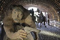 Roger-Viollet | 1383237 | Ousmane Sow (1935-2016). Series  The Battle of Little Bighorn  :  The unhorsed rider . Fortress of Mont-Dauphin (Hautes-Alpes, France), Centre des Monuments Nationaux, May 2021. | © Béatrice Soulé / Roger-Viollet