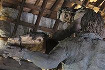 Roger-Viollet | 1383239 | Ousmane Sow (1935-2016). Series  The Battle of Little Bighorn  and  Moving Robe . Place forte de Mont-Dauphin (Hautes-Alpes, France), Centre des Monuments Nationaux, May 2021. | © Béatrice Soulé / Roger-Viollet