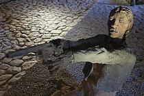 Roger-Viollet | 1383241 | Ousmane Sow (1935-2016). Series  The Battle of Little Bighorn  and  Moving Robe . Place forte de Mont-Dauphin (Hautes-Alpes, France), Centre des Monuments Nationaux, May 2021. | © Béatrice Soulé / Roger-Viollet