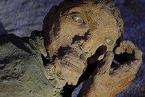 Roger-Viollet | 1383277 | Ousmane Sow (1935-2016).  The Battle of Little Bighorn  series. Close combat with a knife. Fortress of Mont-Dauphin (Hautes-Alpes, France), Centre des Monuments Nationaux, 2021. | © Béatrice Soulé / Roger-Viollet