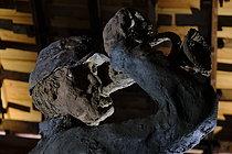 Roger-Viollet | 1383278 | Ousmane Sow (1935-2016).  The Battle of Little Bighorn  series. The bugle. Fortress of Mont-Dauphin (Hautes-Alpes, France), Centre des Monuments Nationaux, 2021. | © Béatrice Soulé / Roger-Viollet